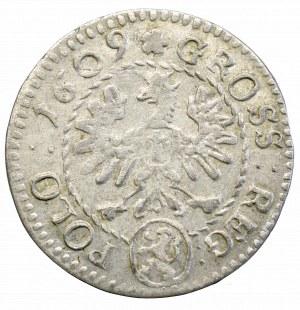 Zygmunt III Waza, Grosz 1609, Kraków - Lewart