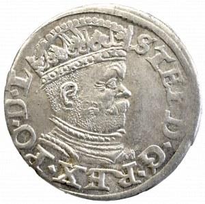 Stefan Batory, Trojak 1586, Ryga - nieopisany PO•D•L
