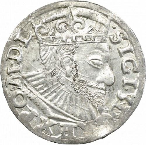 Zygmunt III Waza, Trojak 1593, Poznań - nieopisany L•