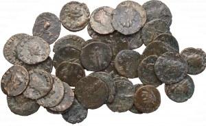 Zestaw antoninianów Rzym 38 sztuk