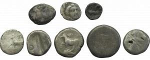 Zestaw monet antycznych Persja i Grecja