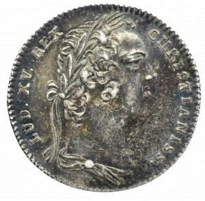 Francja, Ludwik XV, Żeton