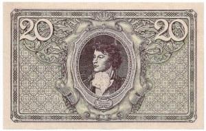 Polska, II Rzeczpospolita, 20 marek polskich 1919 G