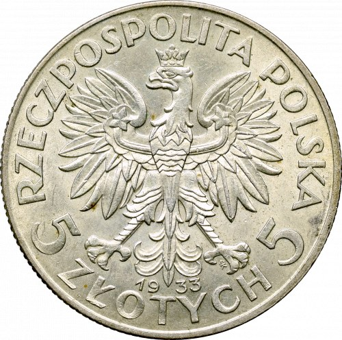 Second Polish Republic, 5 zlotych 1933