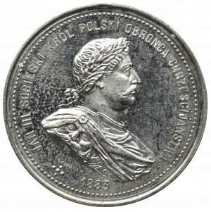 Polska, Medal, Sobieski - 200 rocznica bitwy pod Wiedniem, 1883