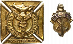 Great Britain, Kahler hospitals and NASC badges