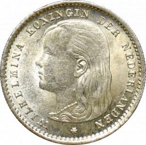 Netherlands, 10 cents 1893