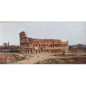 Aleksander Świeszewski (1839 Warszawa - 1895 Monachium)Koloseum, 1882 r.