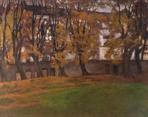 Stanisław Czajkowski (1878 Warszawa - 1954 Sandomierz)Pejzaż, 1906r.