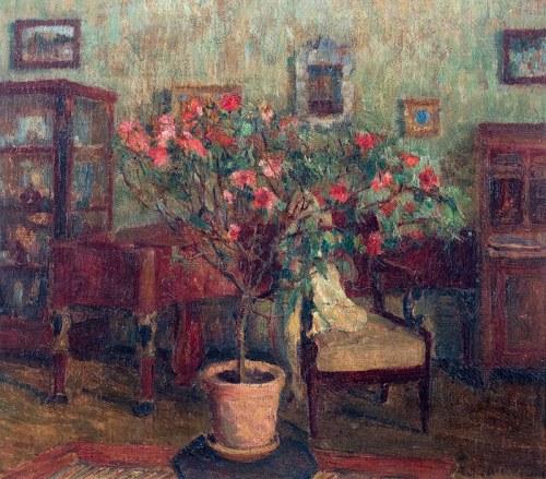 Z. Albinowska-Minkiewiczowa (1886 Klagenfurt - 1971 Lwów)W salonie