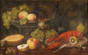 Czesław Wasilewski (1875 Warszawa – 1947 Łódź)Martwa natura z homarem