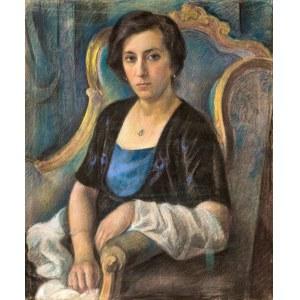 Maurycy Mędrzycki (1890 Łódź - 1951 Paul de Vance)Portret kobiety