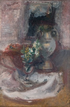 Rajmund Kanelba (1897 Warszawa - 1960 Londyn)Martwa natura, 1929 r.