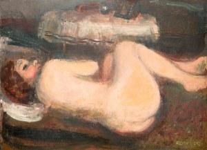 Rajmund Kanelba (1897 Warszawa - 1960 Londyn)Leżąca, 1930 r.