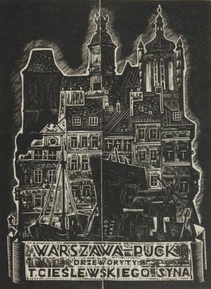 Tadeusz CIEŚLEWSKI (1895-1944), Warszawa -Puck, 1938