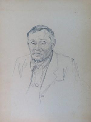 Ludwik Maciąg (1920-2007), Portret mężczyzny