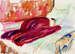 Wojciech Weiss (1875 - 1950), Śpiąca Renia(?), 1912