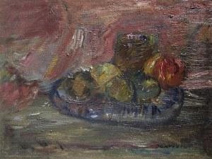 Jan Cybis (1897-1972), Martwa natura z jabłkami