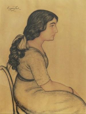 Eugeniusz Zak (1884-1926), Portret kobiety