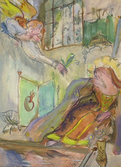 Kasper Pochwalski (1899-1971), Konwalie - Zwiastowanie, 1959