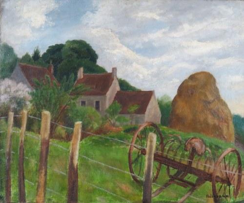 Abraham Weinbaum (1890-1943), Pejzaż wiejski