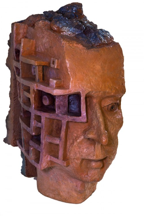 Janusz Bisaga (Ur. 1966), Z cyklu Totem Homo Homo Labiryntus, 2018