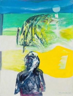 Henryk Mądrawski (1933 - 2009), Wschód słońca, 1970