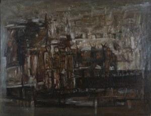 Henryk Mądrawski (1933 - 2009), Oczekiwanie, 1965
