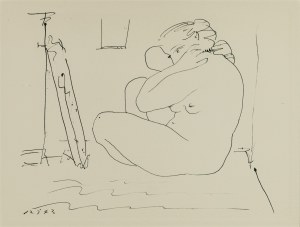 Pablo Picasso (1881 - 1973), Akt, 1943