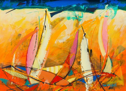 Marek Wróbel (Ur. 1956), Pomarańczowe żagle