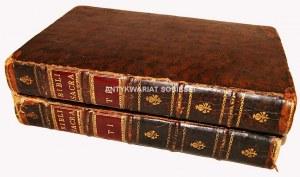 BIBLIA SACRA VULGATA t.I-II wyd.1731
