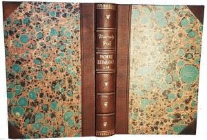 POL- PACHOLE HETMAŃSKIE. T. 1-2 (komplet w 1 wol.) wyd. 1862 il. Kossak
