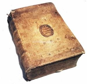 COSMA MAGALIANO - OPERIS HIERARCHICI SIUE DE ECCLESIASTICO PRINCIPATU liber II [-III] wyd. 1609 krakowska oprawa radełkowana z wizerunkami Jagiellonów i superekslibrisem HERB KORCZAK