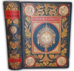REINERS- CHLEB ŻYWOTA wyd. 1913r. PIĘKNA OPRAWA. RYCINY