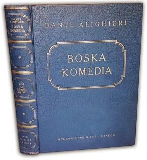DANTE ALIGHIERI - BOSKA KOMEDIA wyd. 1947