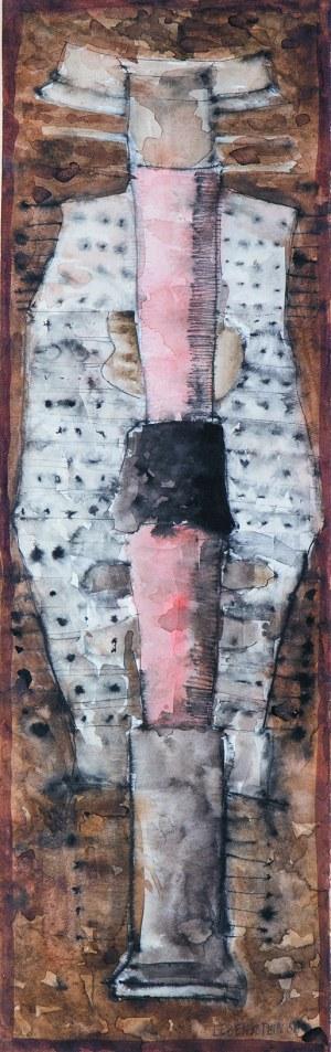 Jan Lebenstein (1930-1999), FIGURE, 1958 r.
