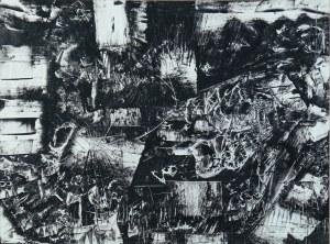 Jerzy Kujawski (1921-1998), KOMPOZYCJA, 1960 r.
