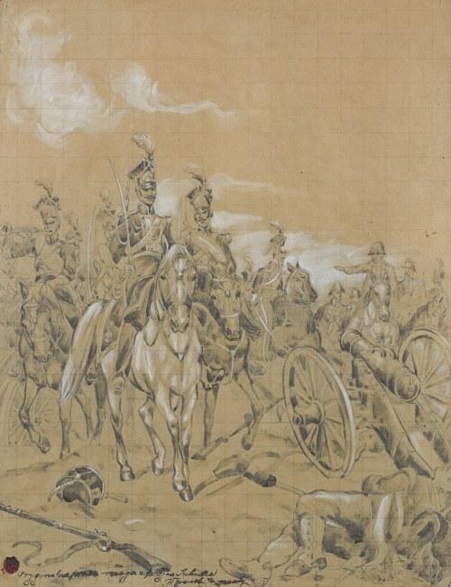 Kossak Juliusz, DAŁ NAM PRZYKŁAD BONAPARTE..., 1893