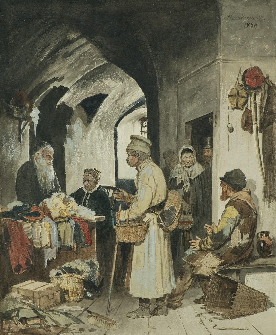 Kozakiewicz Antoni, HANDEL STARZYZNĄ, 1880