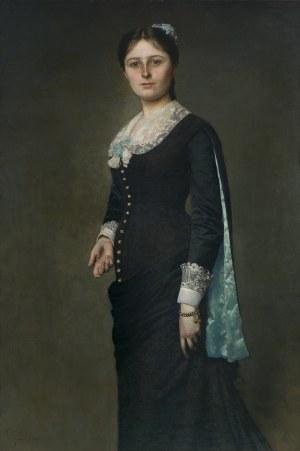 Czachórski Władysław, PORTRET MARII Z POPIELÓW GODLEWSKIEJ, 1880