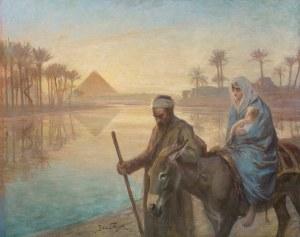 Styka Jan, ŚWIĘTA RODZINA W EGIPCIE