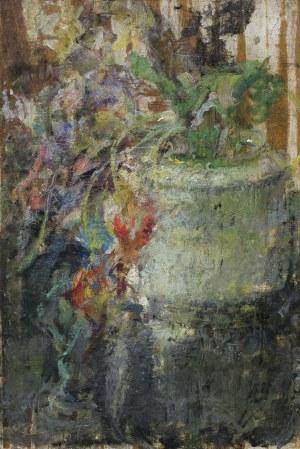 Boznańska Olga, KWIATY W WAZONIE, PO 1930