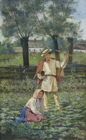 Wiesiołowski Ludwik, W SŁOŃCU, 1890
