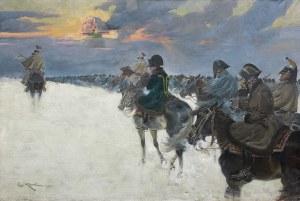 Kossak Jerzy, WIZJA NAPOLEONA, 1924