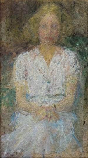 Boznańska Olga, PORTRET LEKARKI DR JANINY ROMANOWEJ, 1934