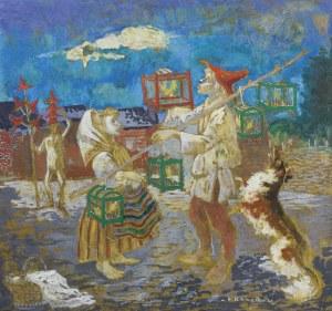 Kanarek Eliasz, PTASZNIK I KAPELUSZNIK, PO 1940