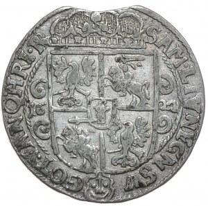 Zygmunt III Waza, ort 1622, Bydgoszcz, PRV.M+, podwójny błąd na aw. RE PDL zamiast REX POL (R3)