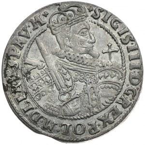 Zygmunt III Waza, ort 1623, Bydgoszcz, PRV:M+. Rewers w gwiazdkami jako znakami interpunkcyjnymi (R4)