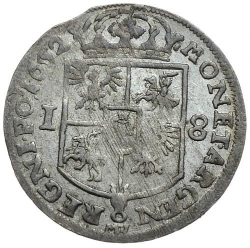 Jan II Kazimierz, ort 1652, Wschowa