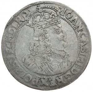 Jan II Kazimierz, ort 1659, Poznań